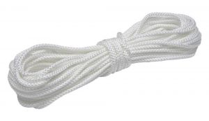 "1/8"" braided nylon rope"